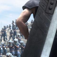 Zack's final battle.