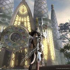 Храм Двенадцати в <i>A Realm Reborn</i>.