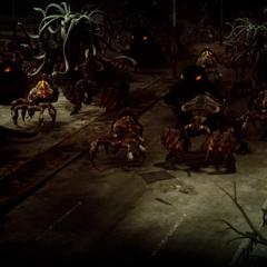 Daemon hordes.