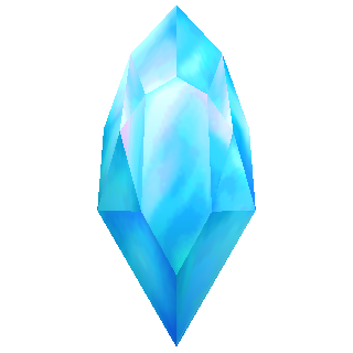A crystal (3D).