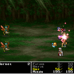 <i>Final Fantasy II</i> (PS).