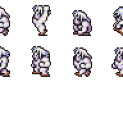 Set of Umaro's sprites.