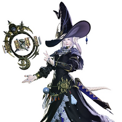 Astrologian render.