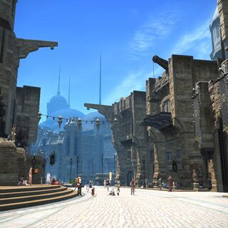 Ul'dah in <i>A Realm Reborn</i>.