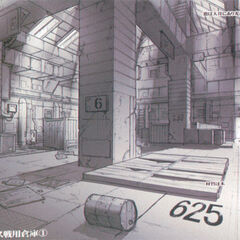 Warehouse concept art.
