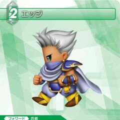 Trading card of Edge's SD artwork.