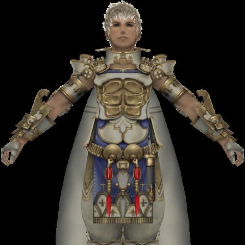 Fully colored in-game model for Rasler.