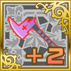 Poison Axe +2 in <i>Final Fantasy Airborne Brigade</i> (SR+).