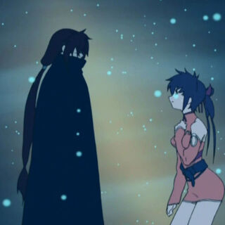 Kaze and Lisa in Episode 13.