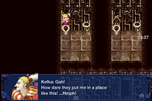 FFVI IOS Kefka's Imprisonment