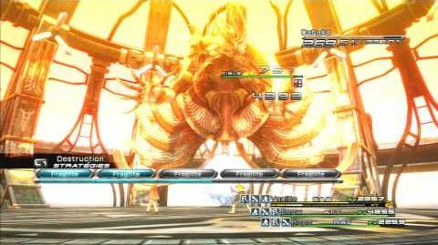 Final Fantasy XIII Combat contre Dahaka