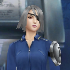 Fujin in <i>Final Fantasy VIII Remastered</i>.