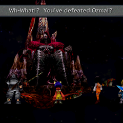 Hades comments on the party having defeated Ozma.