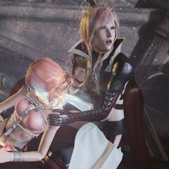 Vanille and Lightning.