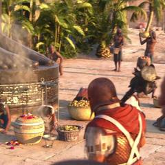 Umbra in the <i>Assassin's Creed Origins</i> Gamescom trailer.