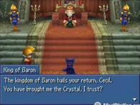 Cecil talking to the king of Baron