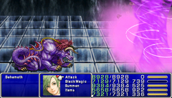 FF4PSP Enemy Ability Maelstrom