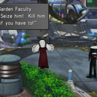 Garden Faculty go on a revolt.