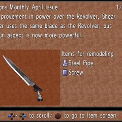 April Issue: Shear Trigger.