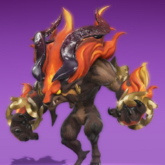 Ifrit as he appears in the Mirage Manual.