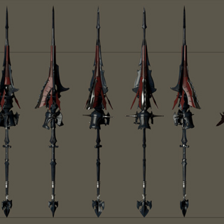 Aranea's weapon.