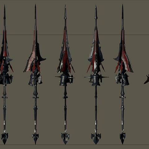Aranea's weapon.