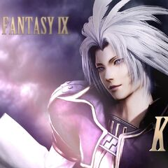 Kuja in his arcade trailer.