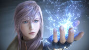 Dissidia012 screenshot Lightning CG