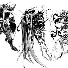 Emperor of Hell (unused designs).