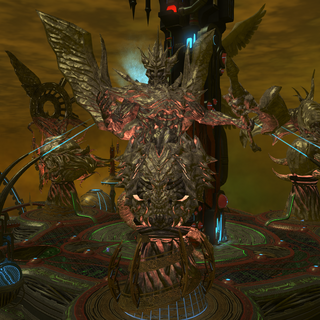 <i>Demon</i> statue