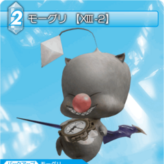 Trading card using Mog's