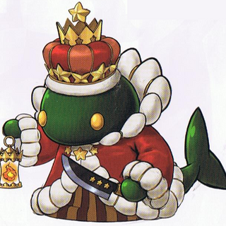 Tonberry King concept art.