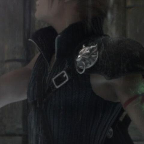 Геостигма Клауда исцеляется под воздействием исцеляющего дождя Аэрис.