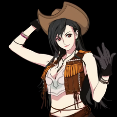 Cowgirl Tifa artwork.