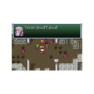 Anna's death in Damcyan (GBA).