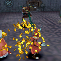 Mimic using Eat in <i>Final Fantasy IX</i>.