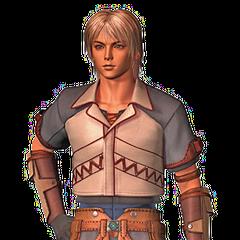 Firion na abertura de <i>Final Fantasy Origins</i>.