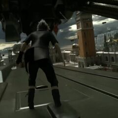 Noctis fights in Altissia.