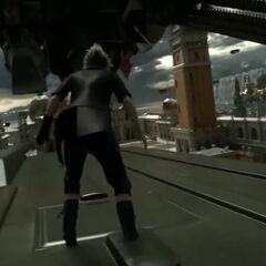 Ноктис сражается в Альтиссии.
