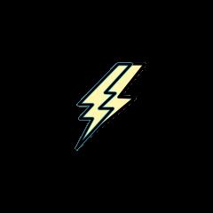 Lightning deposit icon.