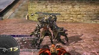(HD)PS3 Final Fantasy XIII Summon - Hecatoncheir - Vanille