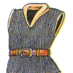 Concept art of Flame Mail from <i>Final Fantasy III</i>.