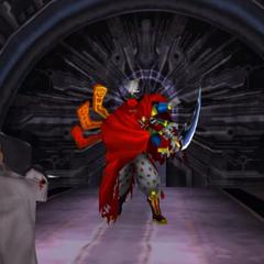 Gilgamesh appears at the top of Lunatic Pandora.
