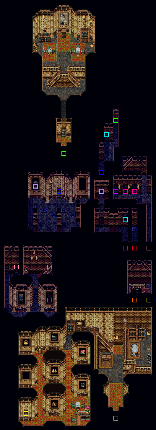 Owzer's Mansion Map
