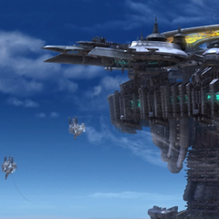 Sky Fortress <i>Bahamut</i>.
