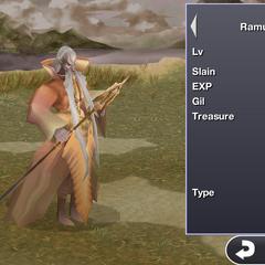 Ramuh in the iOS version.