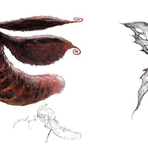Concept art of a Wamoura.