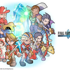 <i>Final Fantasy</i> party with <i>Final Fantasy II</i> party.