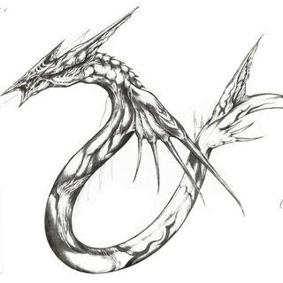 Sketch by Tetsuya Nomura.