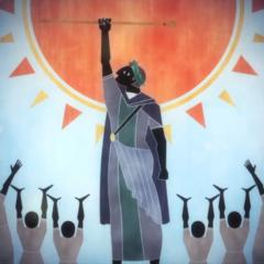 Сомнус захватывает трон в <i>Episode Ardyn — Prologue</i>.
